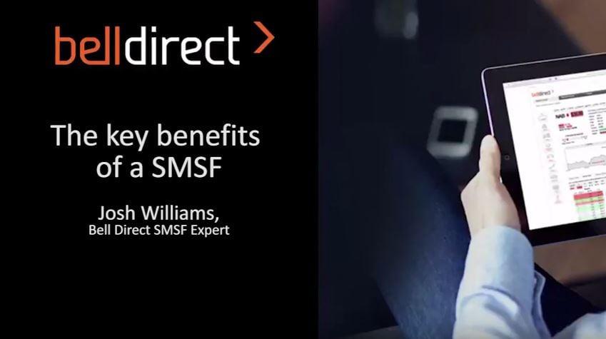 Key benefits of a SMSF - Josh video