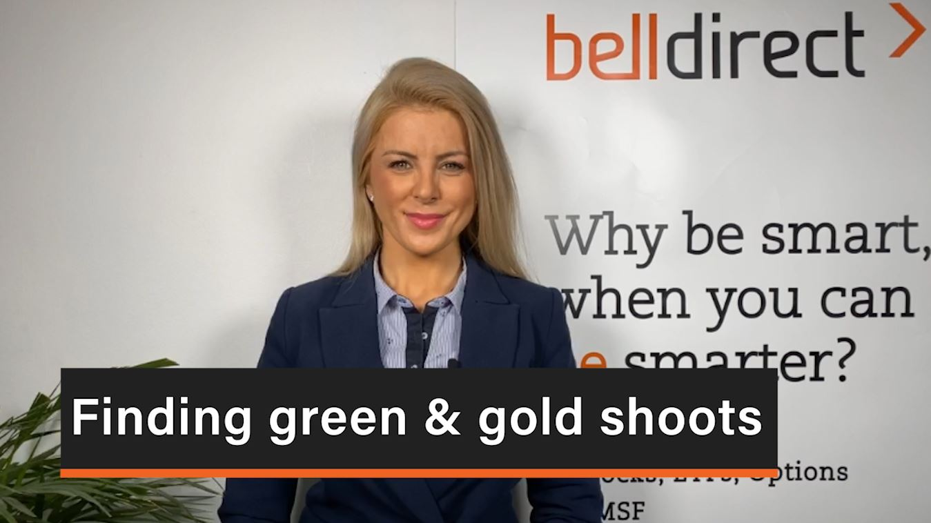 Finding green & gold shoots