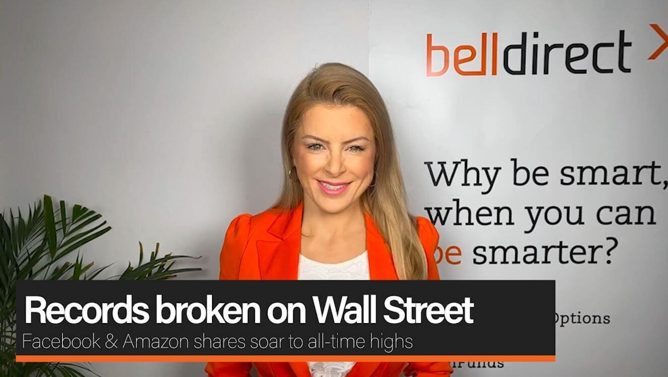 Record broken on Wall Street