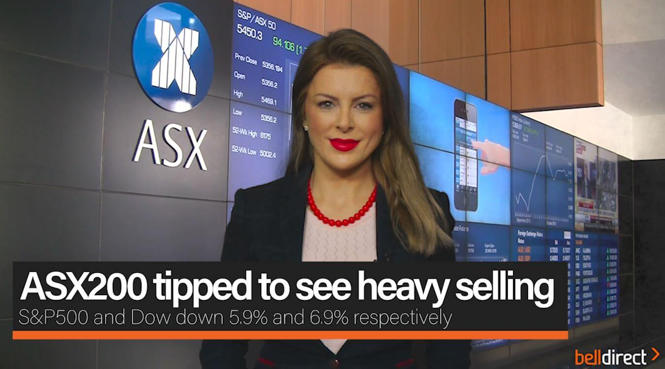 ASX200 tipped to see heavy selling