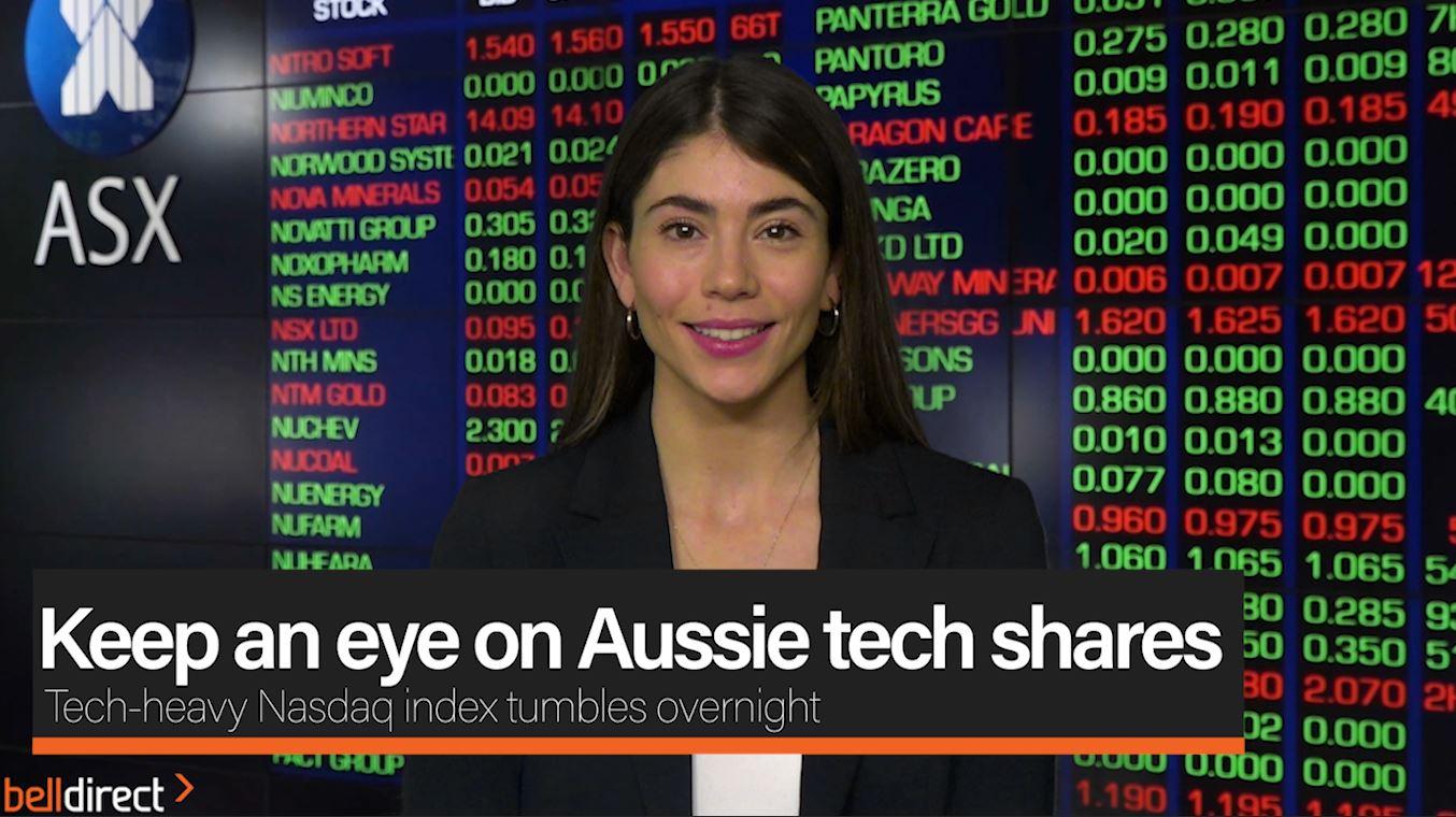 Keep an eye on Aussie tech Shares