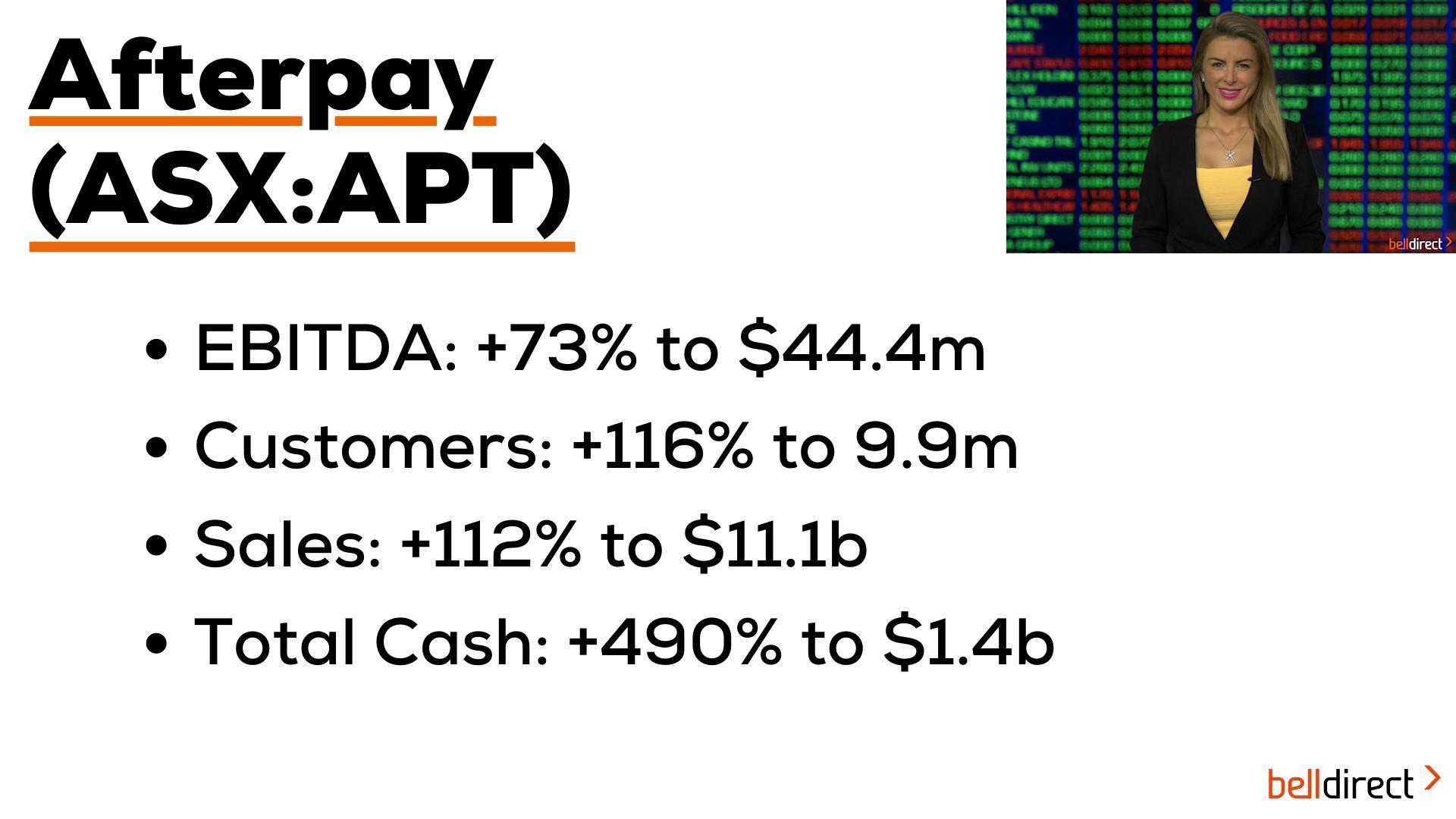 Afterpay overtakes Coles on the ASX200