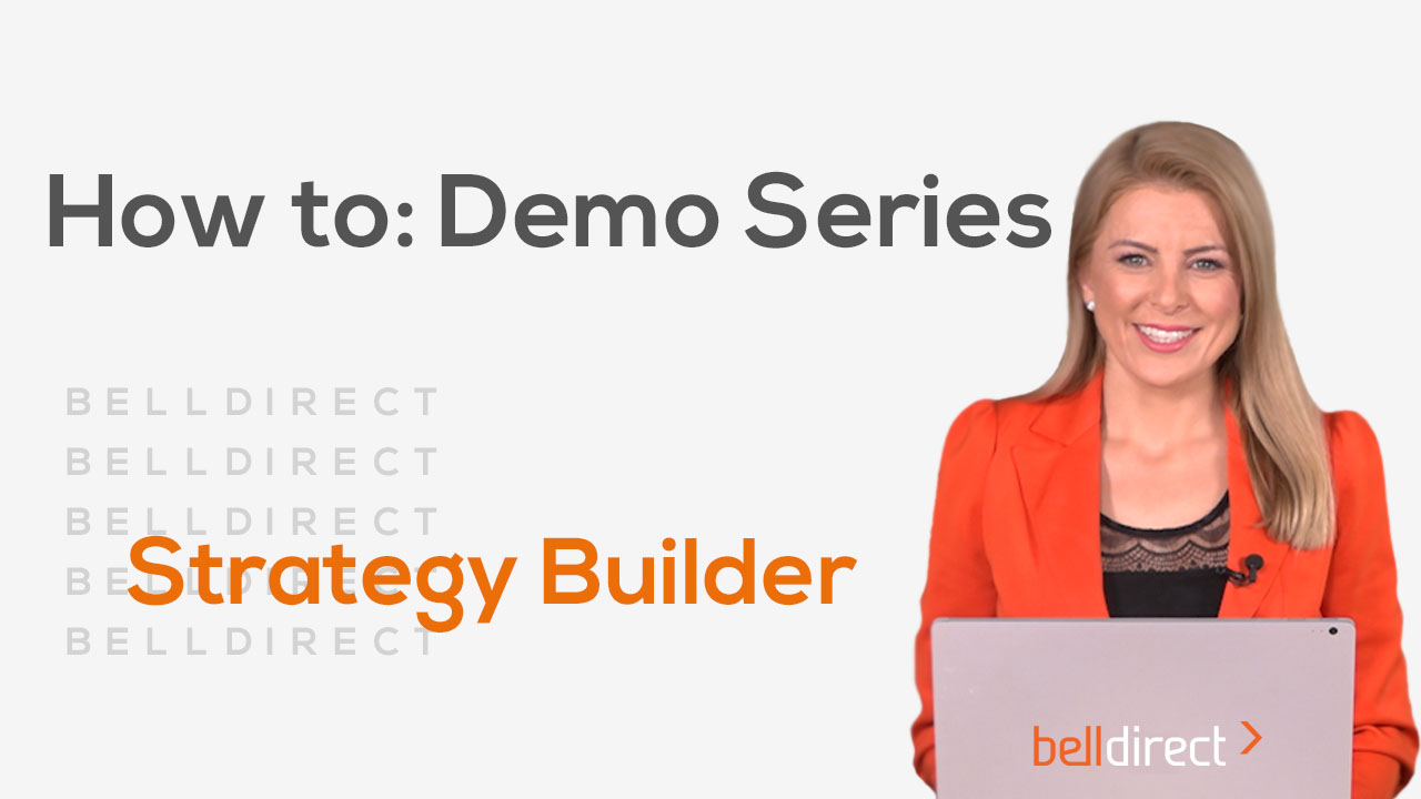 How to: Demo Series - Strategy Builder