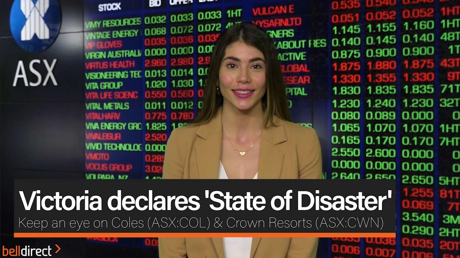 Victoria declares 'State of Disaster'