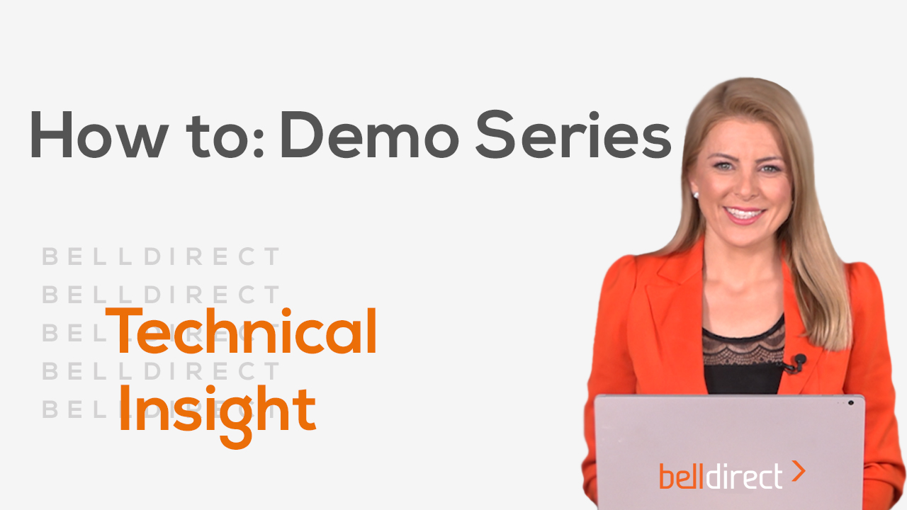 How to: Demo Series - Technical Insight