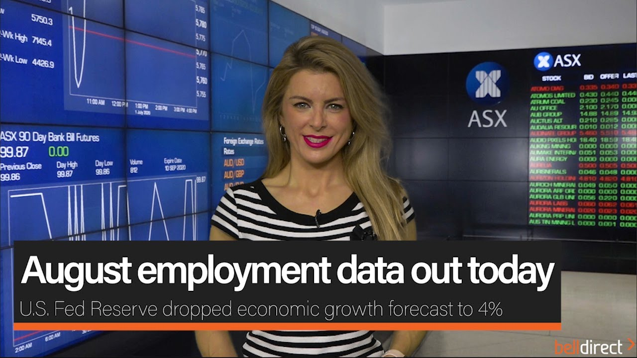 August employment data out today