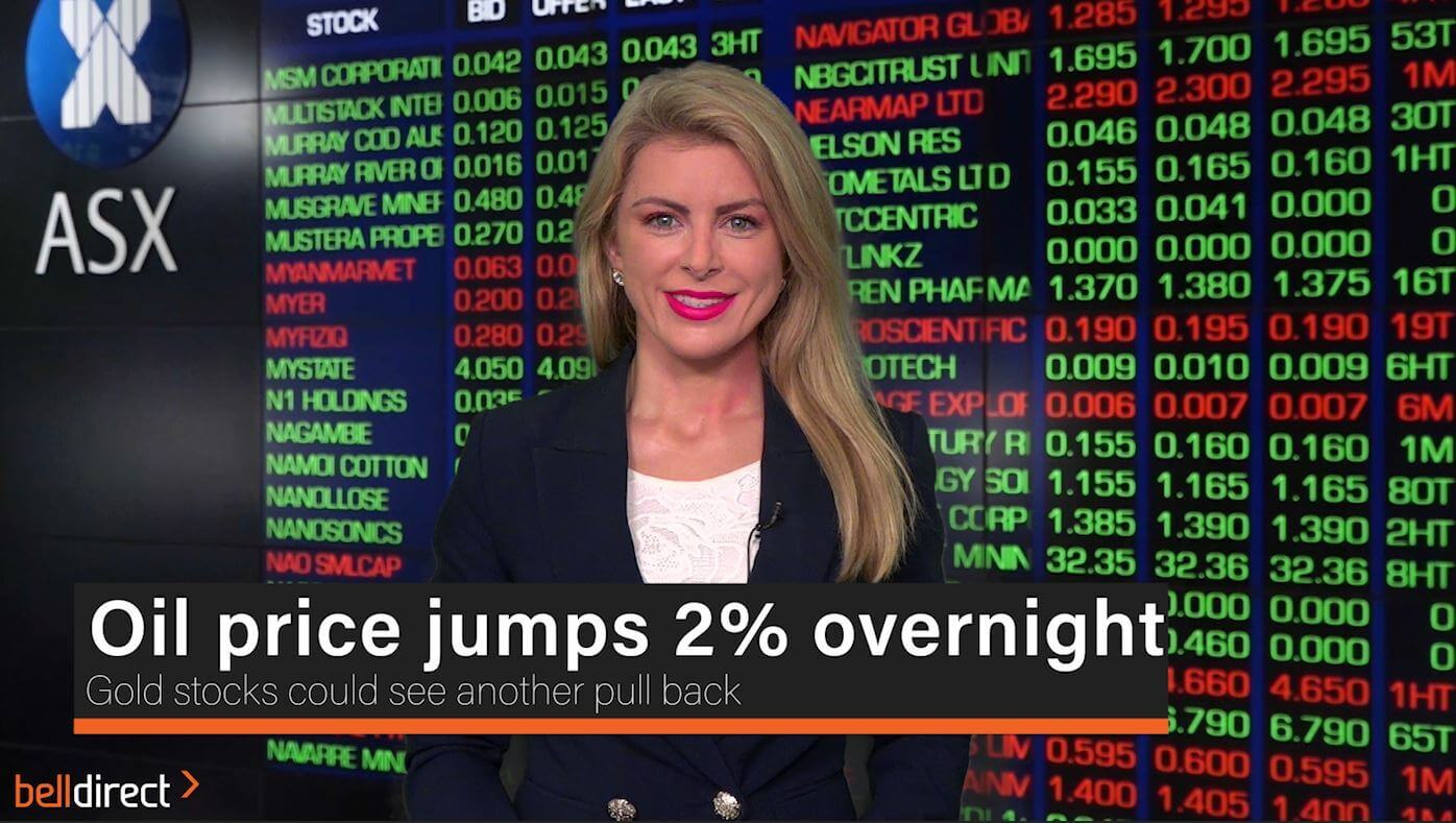 Oil jumps 2% overnight