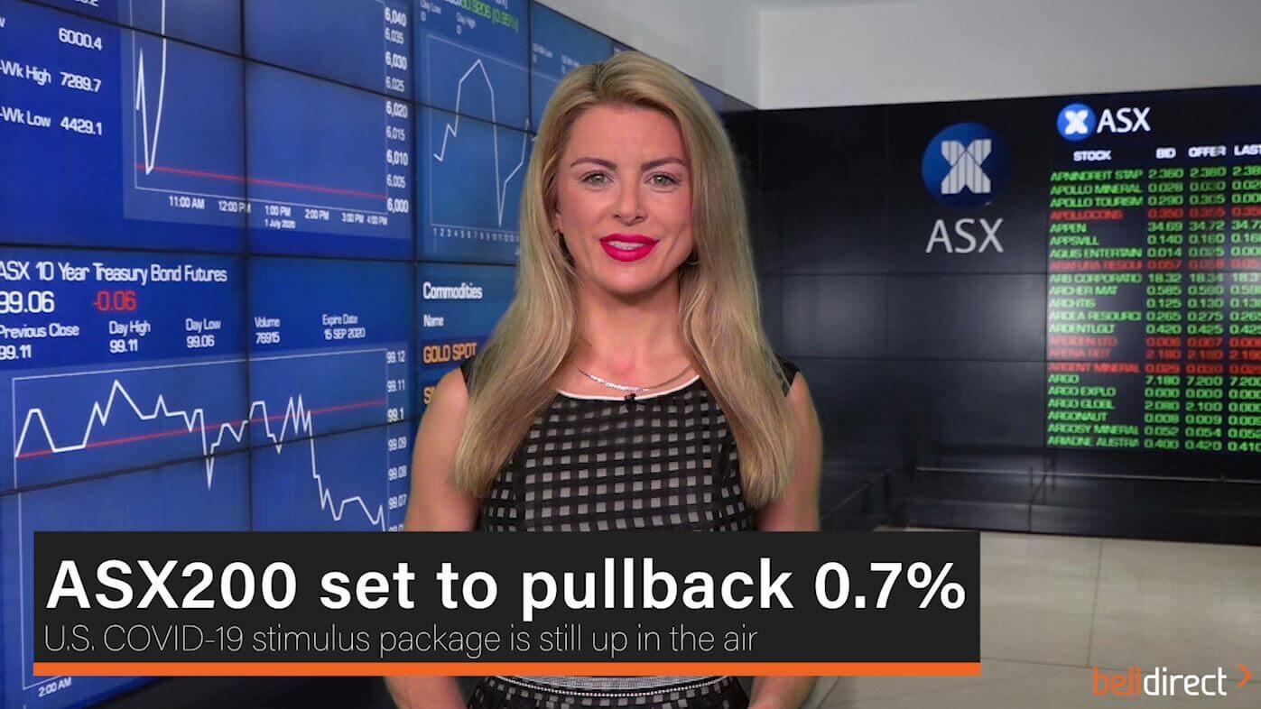 ASX200 set to pullback 0.7%
