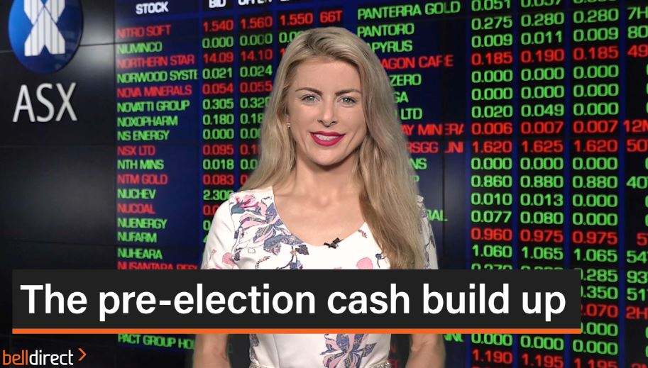 The pre-election cash build up