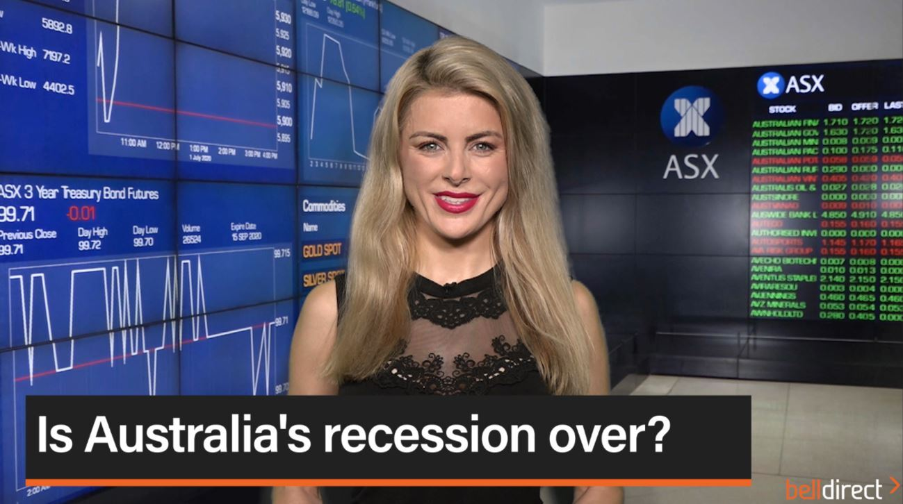 Is Australia's recession over?