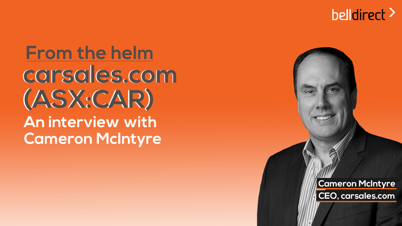 From the helm: carsales.com