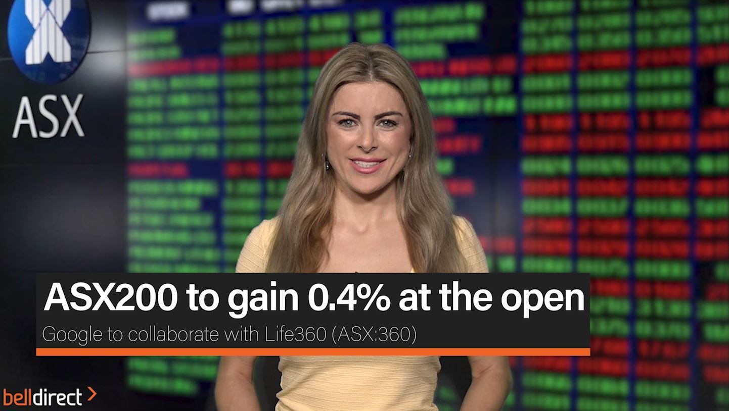 ASX200 to gain 0.4% at the open