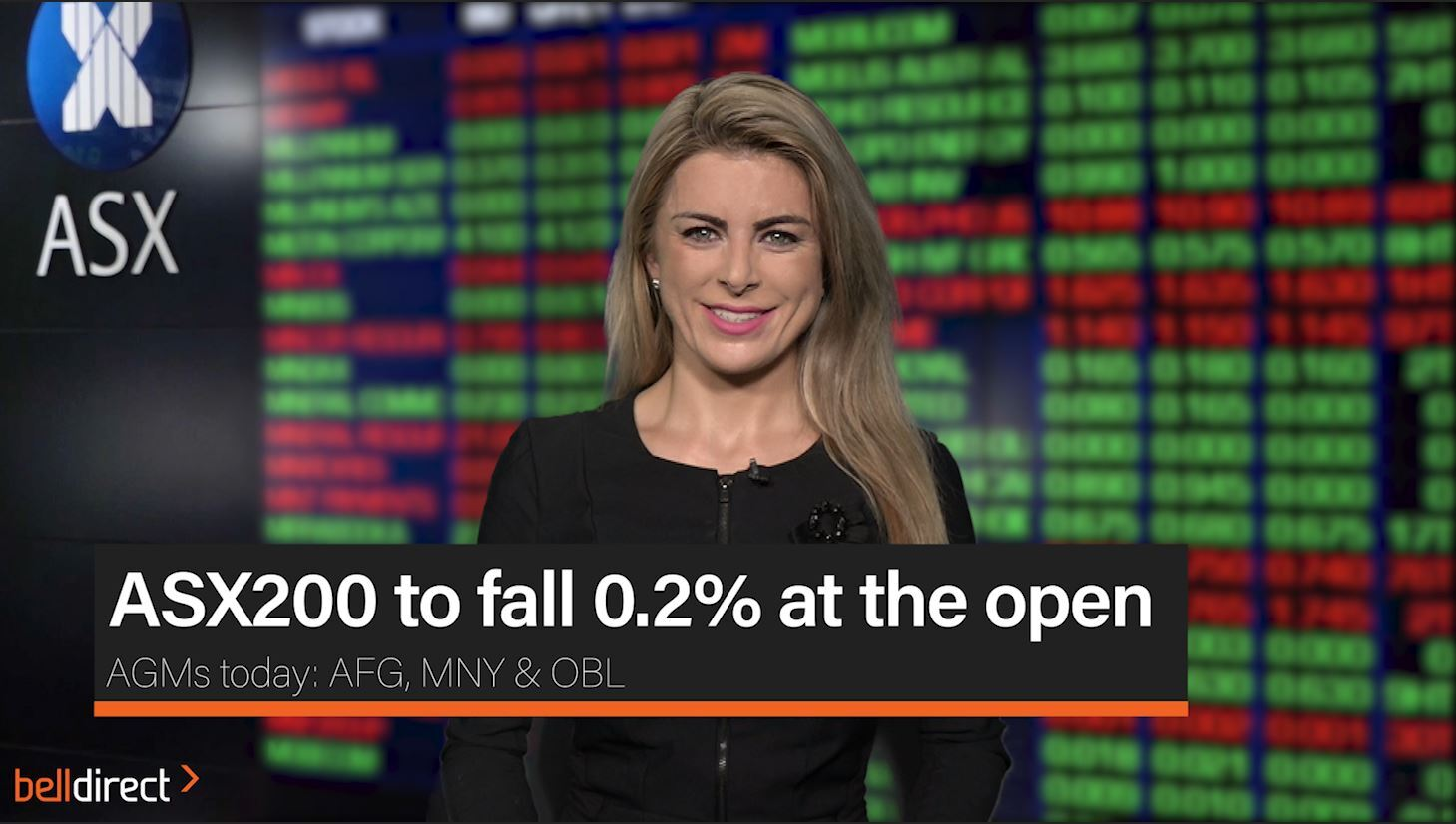 ASX200 to fall 0.2% at the open