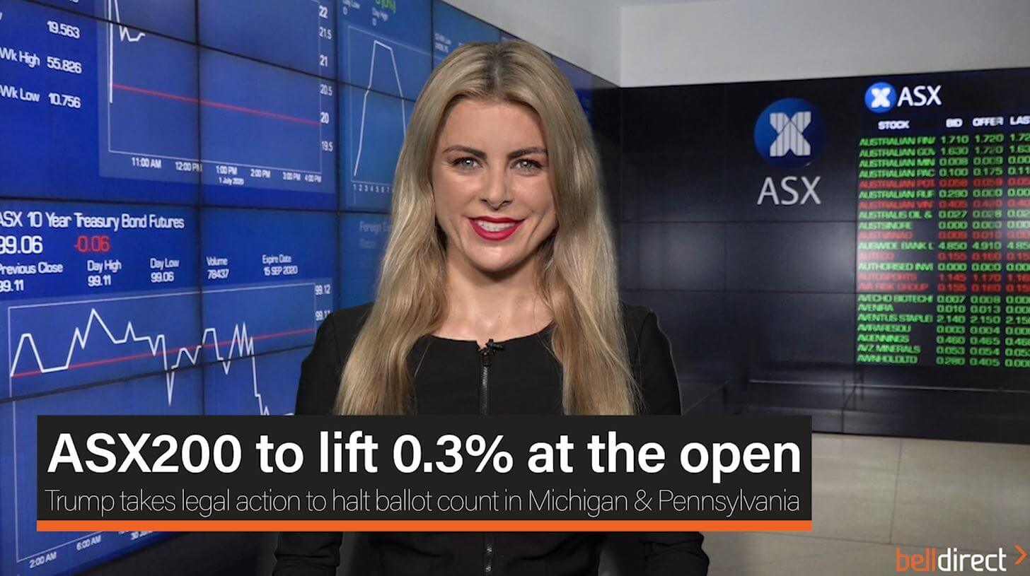 ASX200 to lift 0.3% at the open