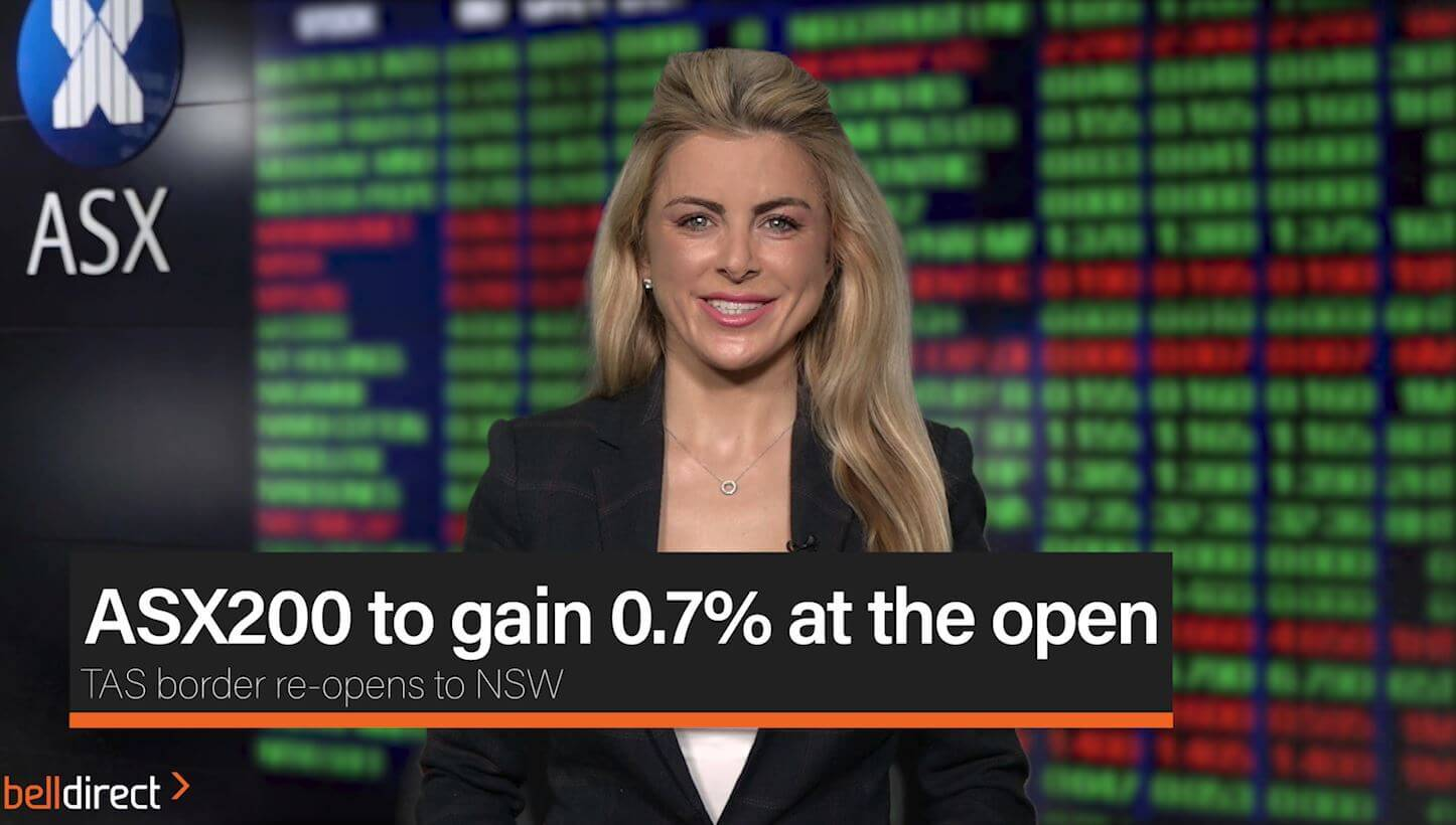 ASX200 to gain 0.7% at the open