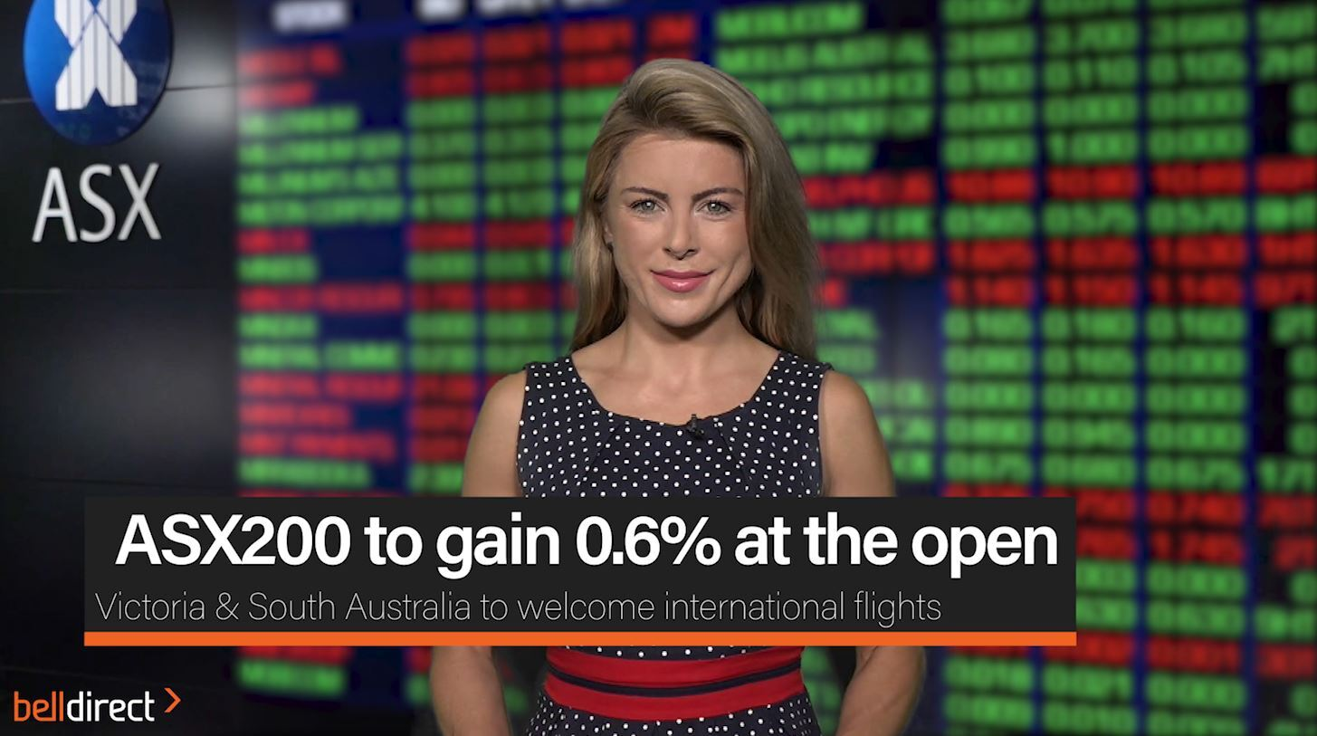 ASX200 to gain 0.6% at the open