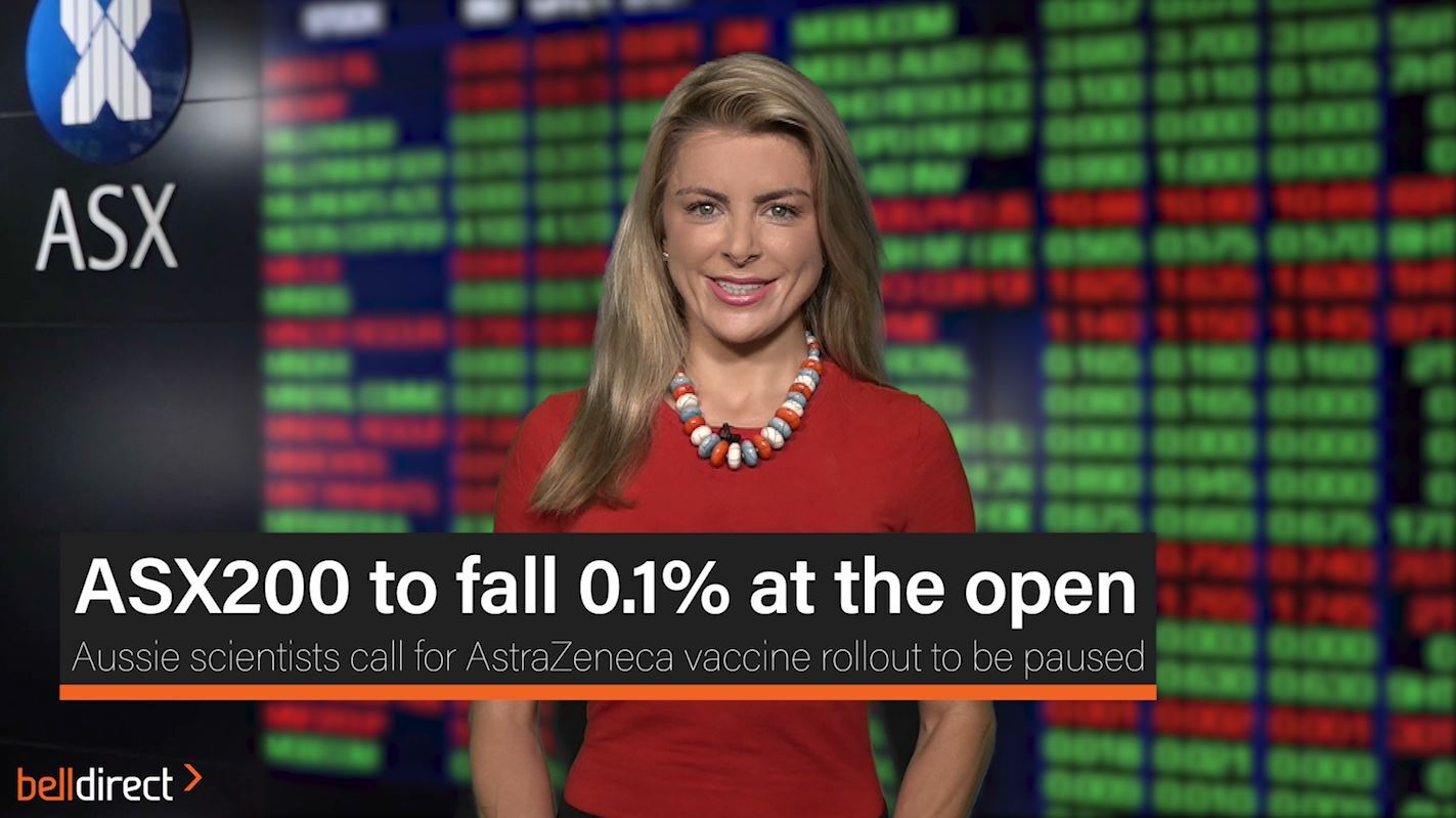 ASX200 to fall 0.1% at the open