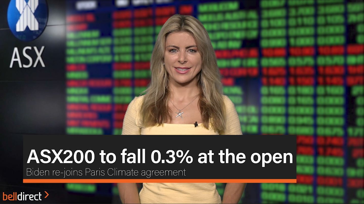 ASX200 to fall 0.3% at the open