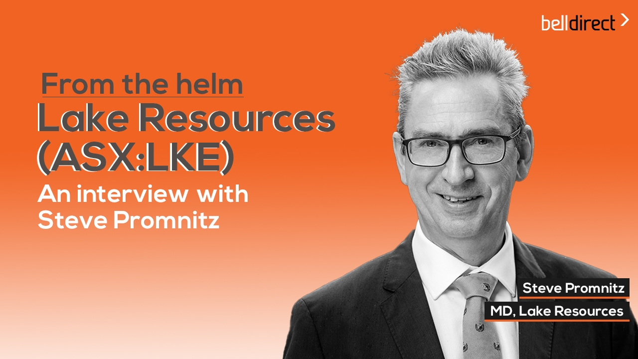 From the helm: Lake Resources (ASX:LKE)