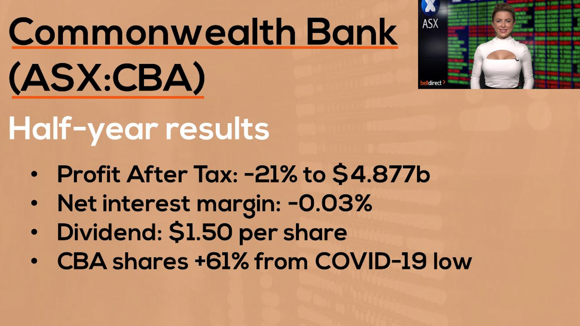 Commonwealth Bank (ASX:CBA) Reporting Season Results