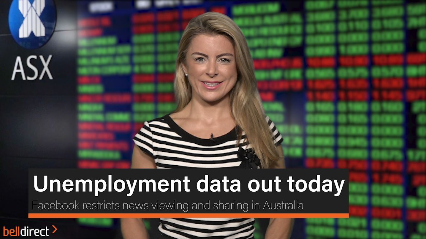 Unemployment data out today