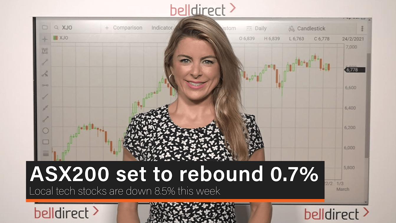 ASX200 set to rebound 0.7%