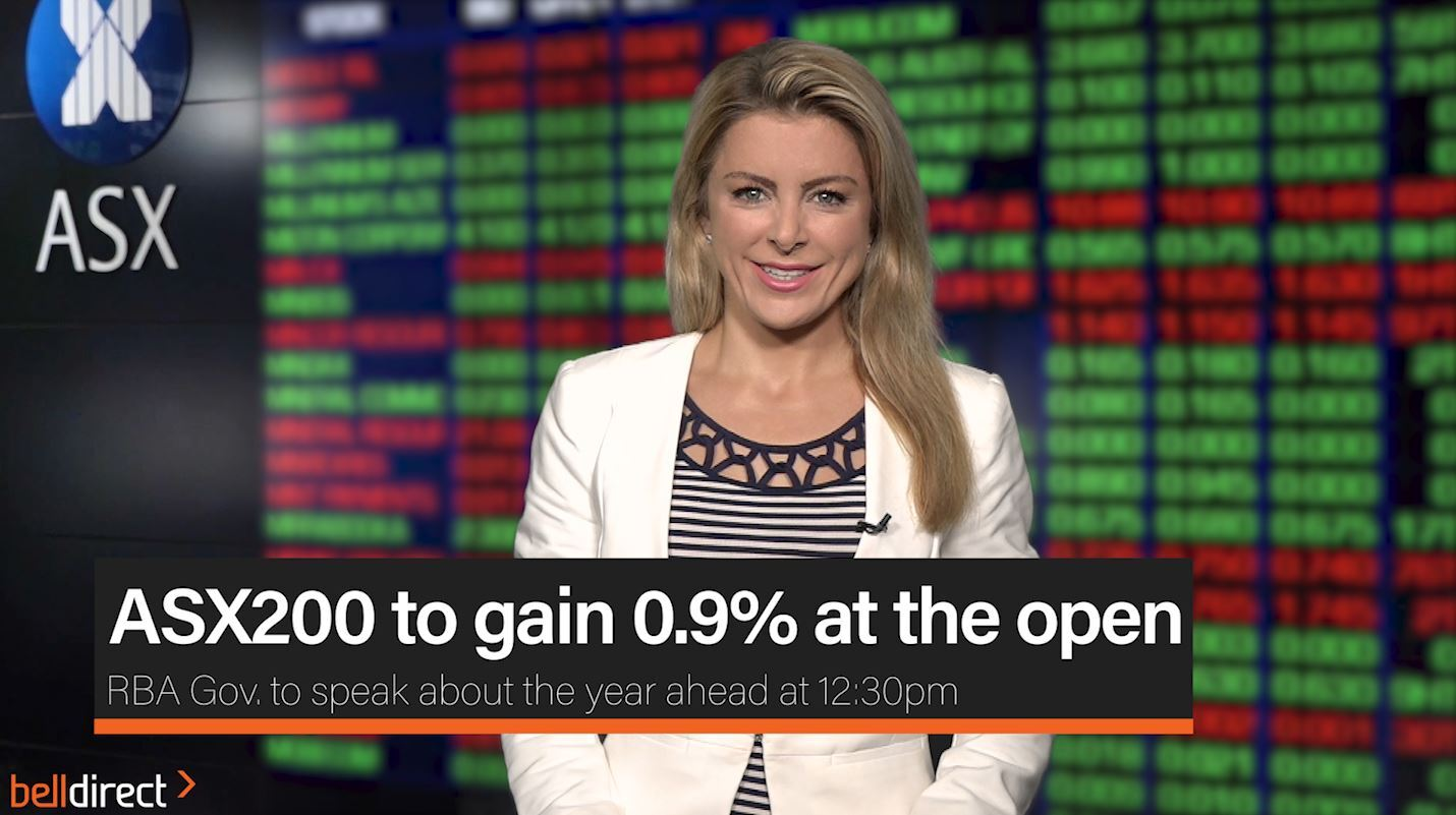 ASX200 to gain 0.9% at the open