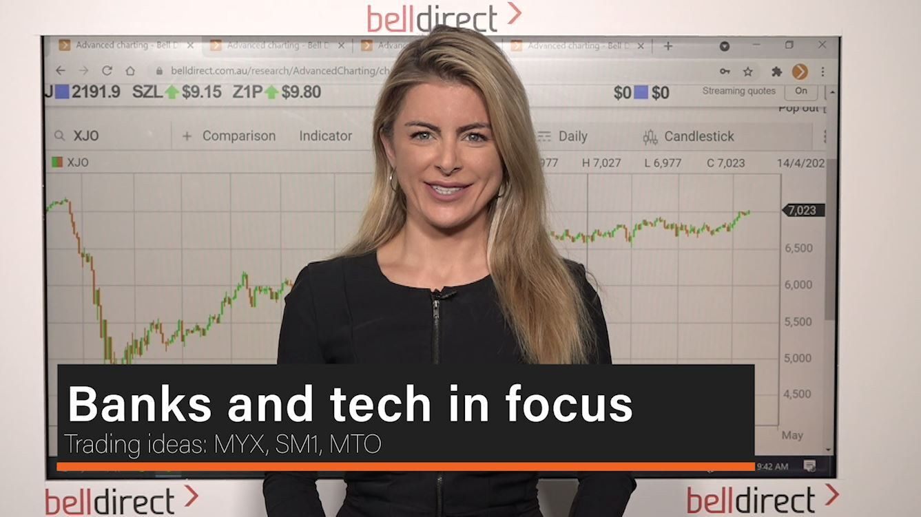 Banks and tech in focus