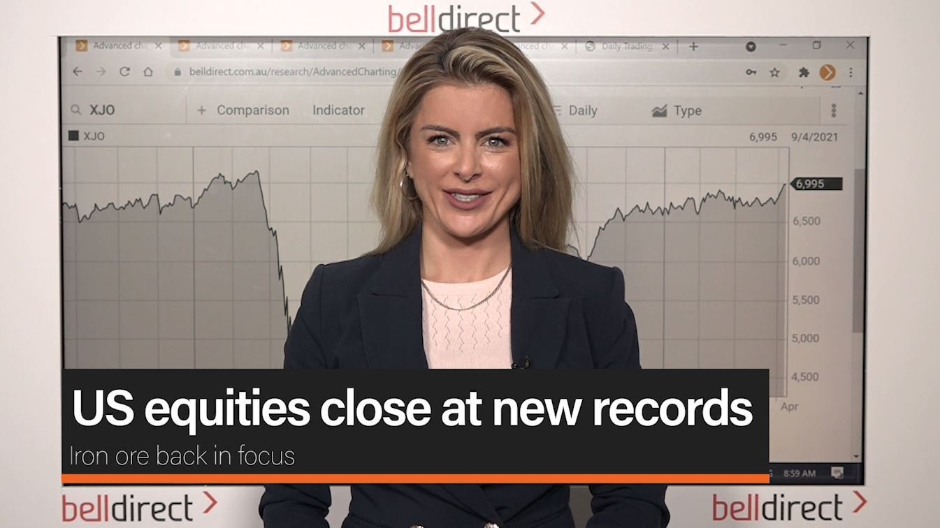 US equities close at new records