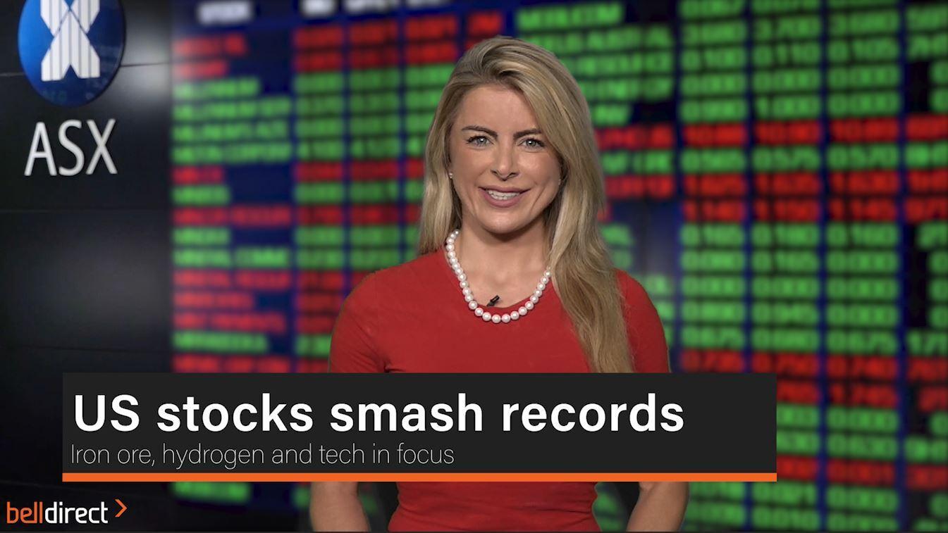 US stocks smash records
