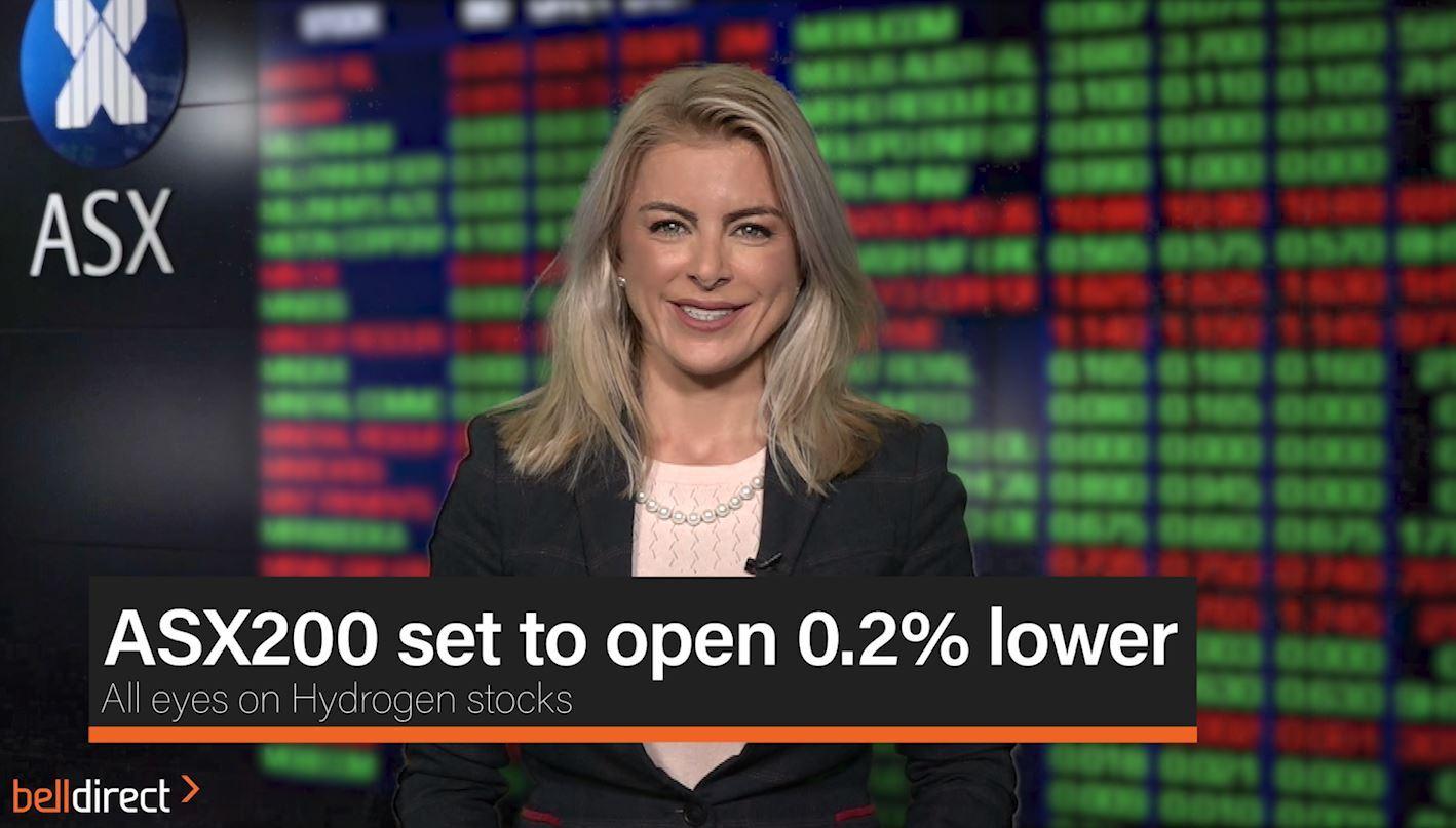 ASX200 set to open 0.2% lower