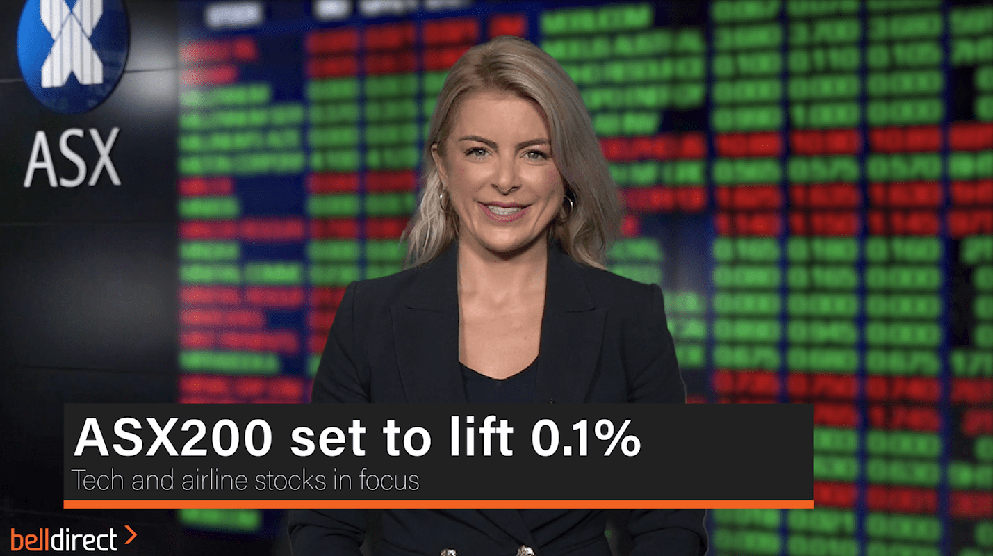 ASX200 set to open at 0.1% lift