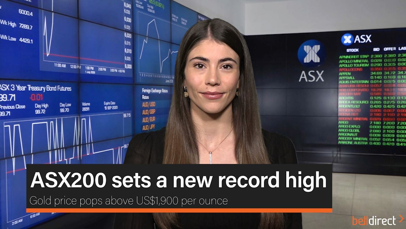 ASX200 eyeing lift at the open