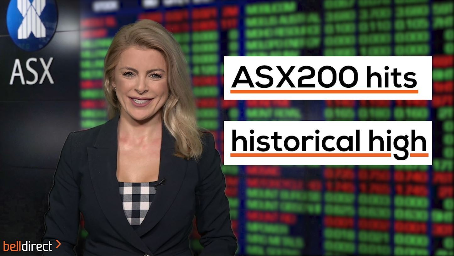 After 15 months of regaining losses, this week the Aussie share market hit a historical high, largely thanks to better than expected economic news