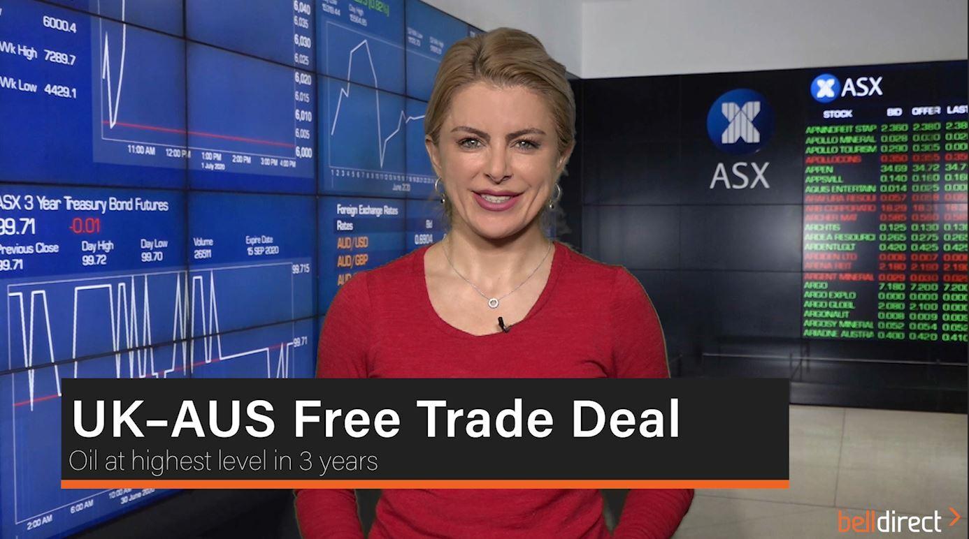 UK – AUS Free Trade Deal