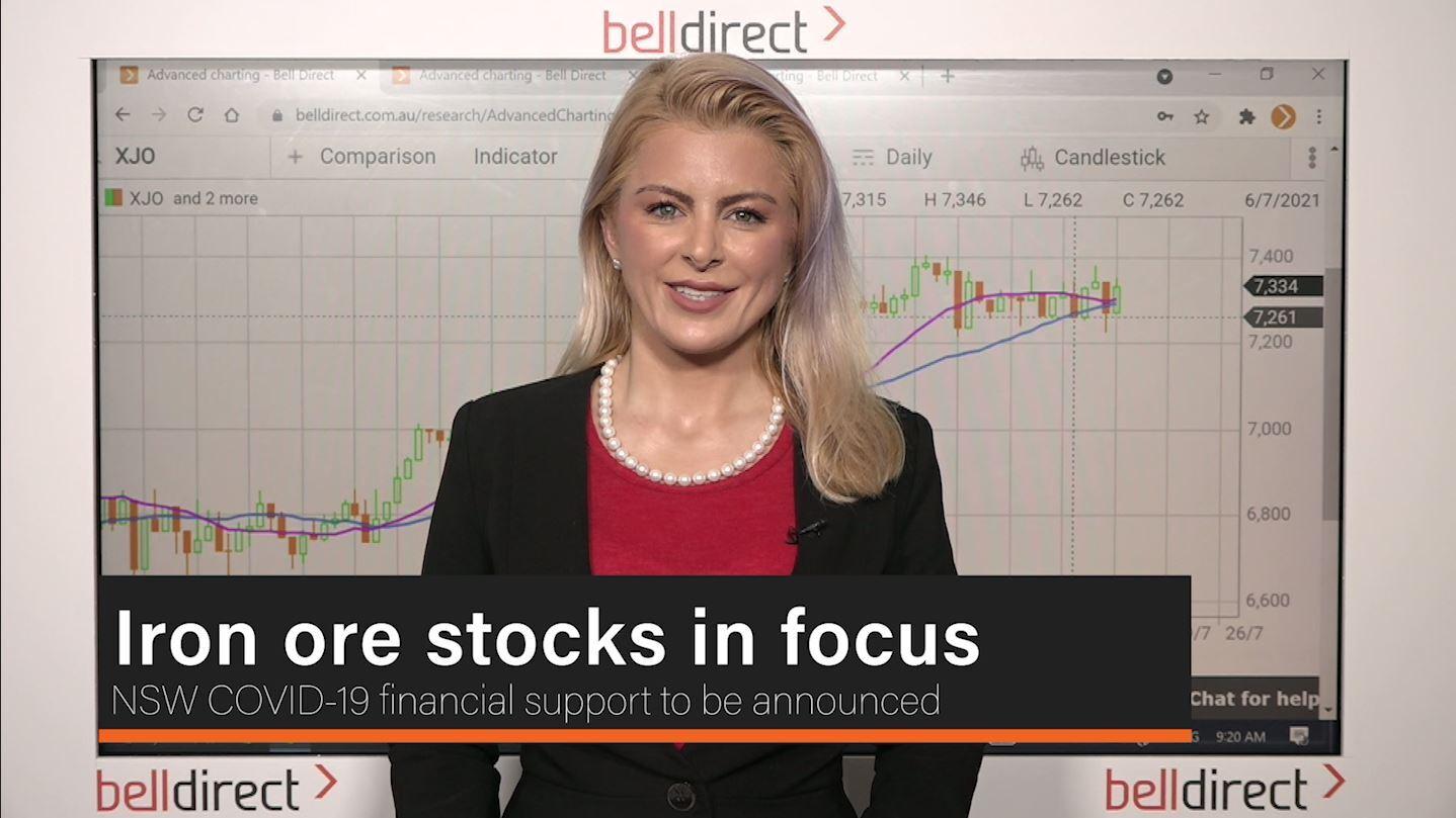 Iron ore stocks in focus
