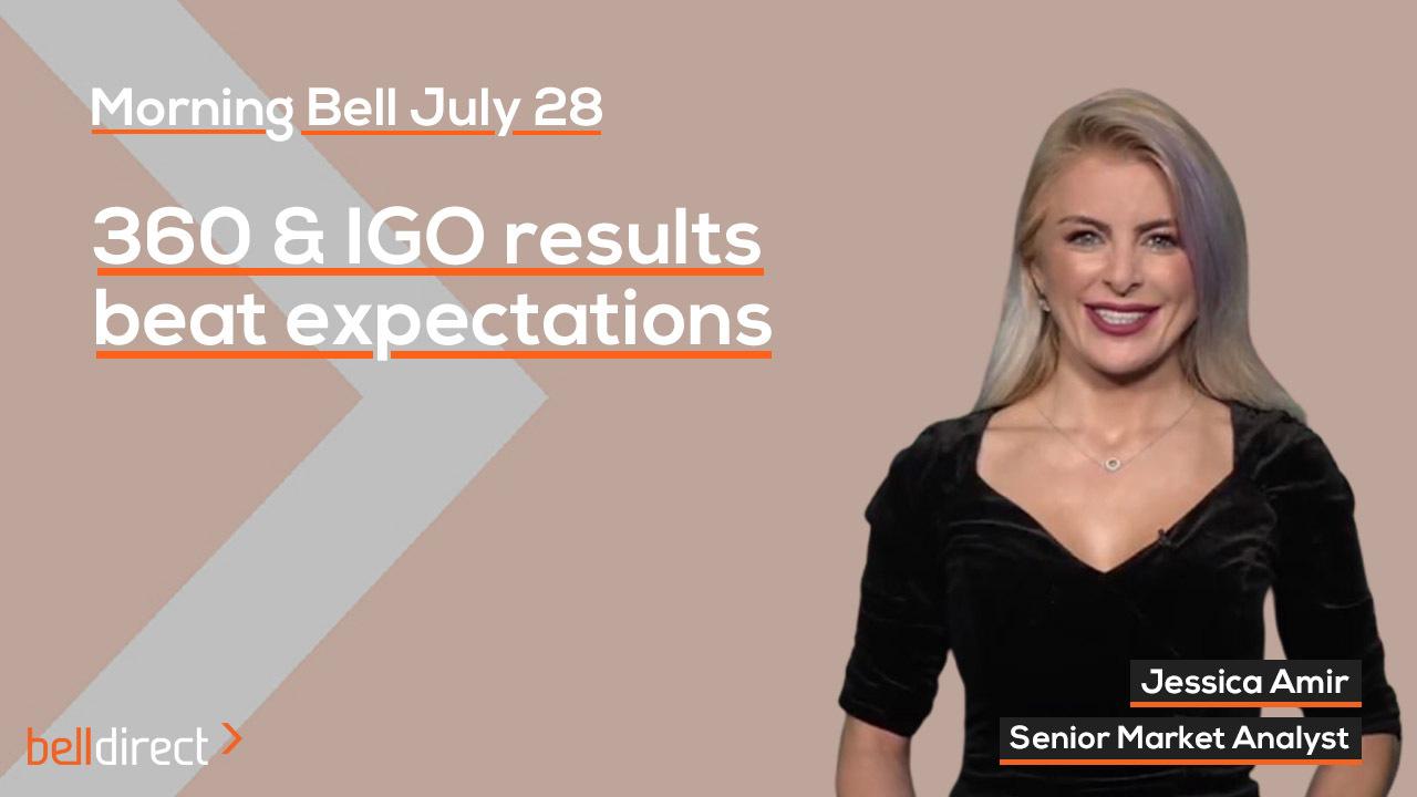 360 & IGO results beat expectations
