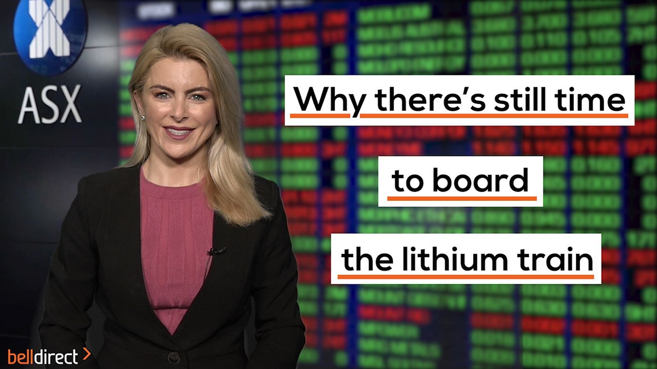 Why there's still time to board the lithium train