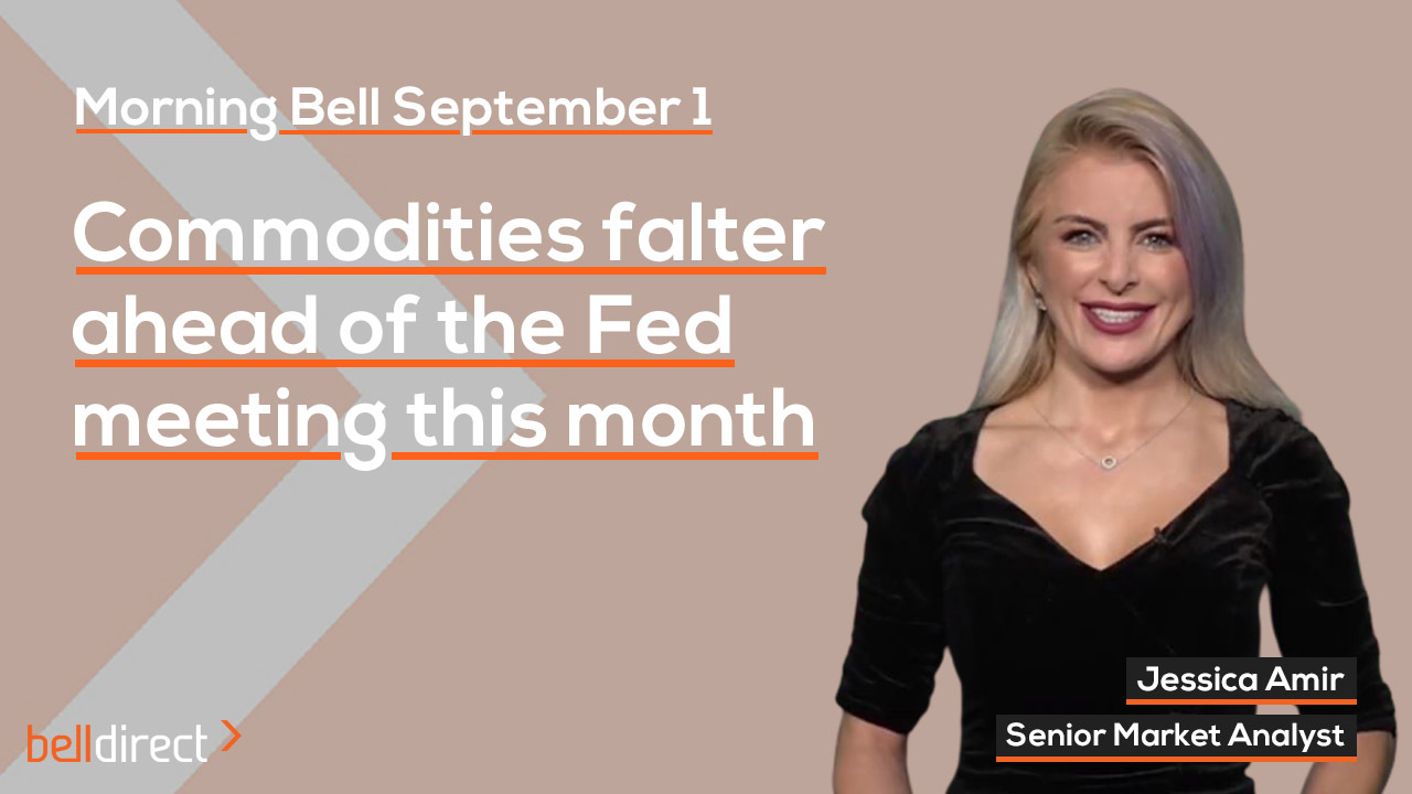 Commodities falter ahead of Fed meeting this month