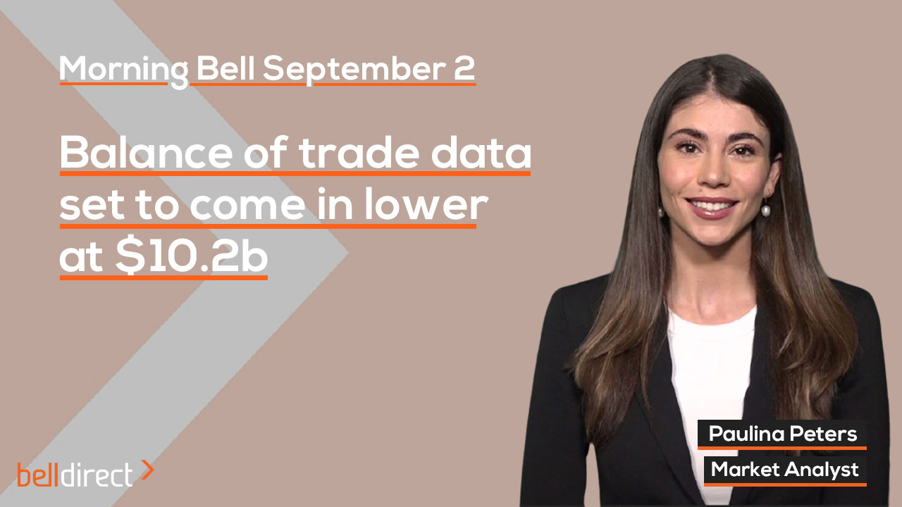 Balance of Trade data for July set to come in lower at $10.2b