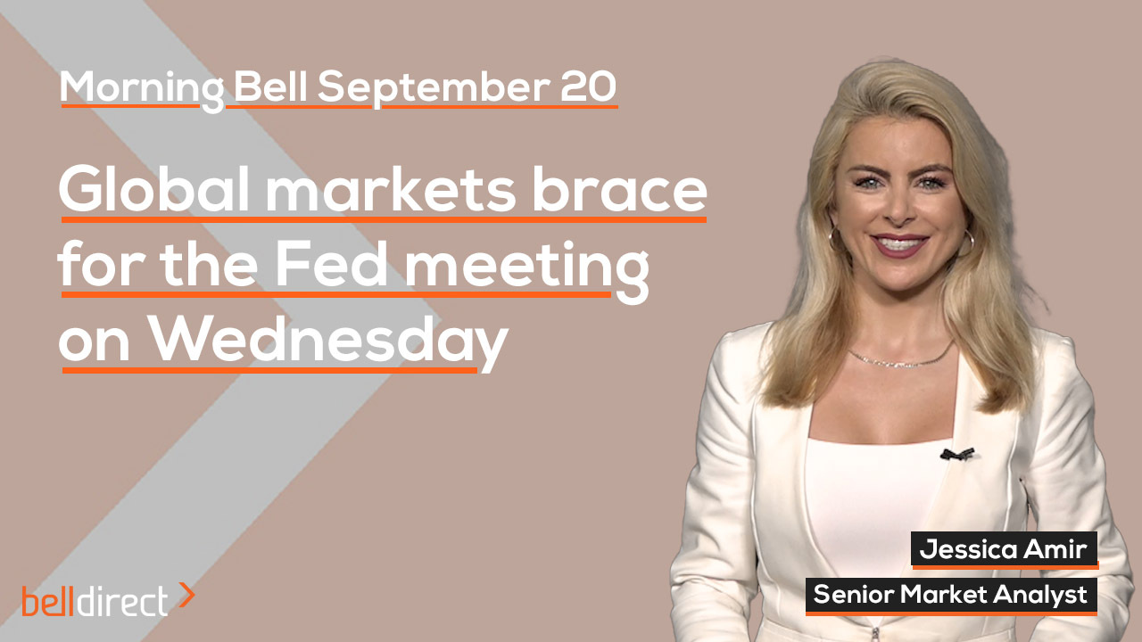 Global markets await Fed meeting on Wednesday