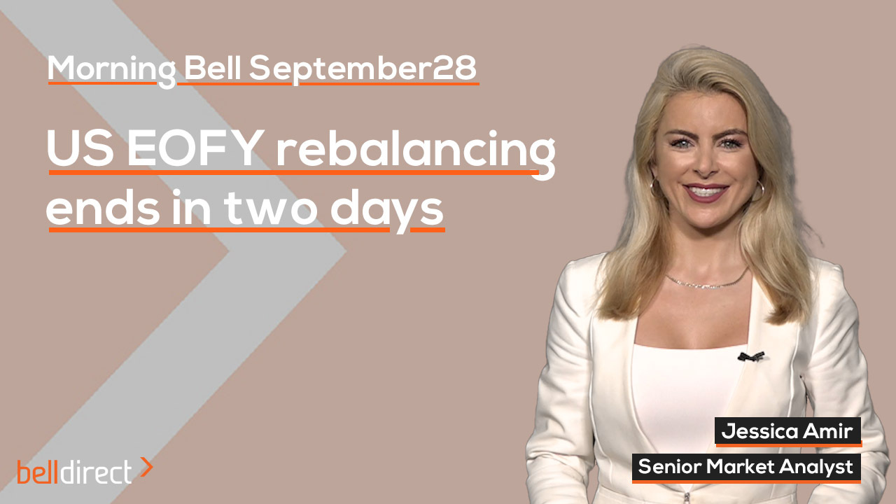 US EOFY rebalancing ends in two days